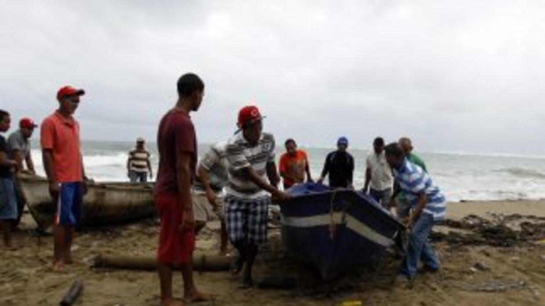 Se espera que no tarde mucho el impacto de Irene en República Dominicana.
