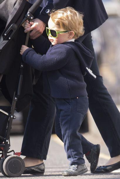 El príncipe George Alexander Louis ya está enorme.