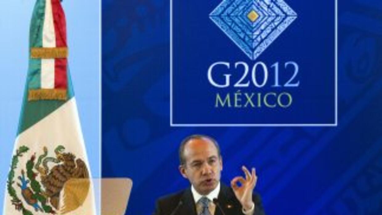 Felipe Calderón liderará durante este año al G20, ya que México ostenta...