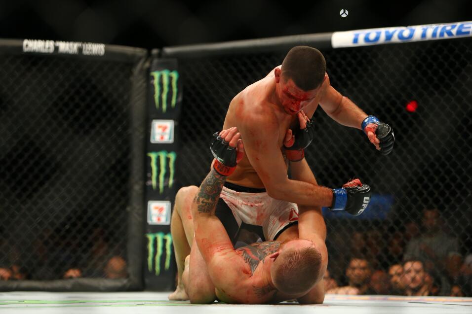 McGregor vs Nate Diaz