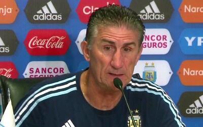 """Edgardo Bauza: """"Somos terceros, pero no quiere decir que estamos clasifi..."""