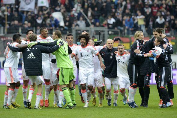 Bayern supera por 11 títulos a su perseguidor más cercano.
