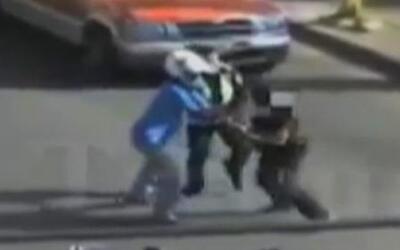 Asesinato de policía captado en cámara