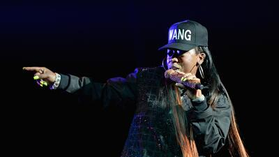 NEW YORK, NY - OCTOBER 16: Musician Missy Elliott performs onstage at th...