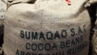 Una carga de cacao. (Imagen de Archivo).