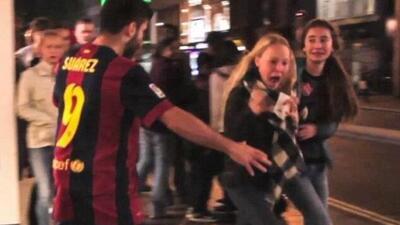 Una parodia de Luis Suárez vuelve aparecer, ahora en forma de zombie.