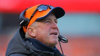 John Fox será el entrenador en jefe de los Chicago Bears.