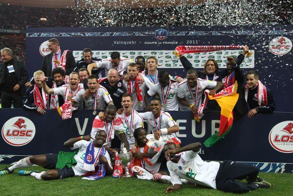 El mismo Lille plasmó ese fútbol que lo hizo monarca de Li...