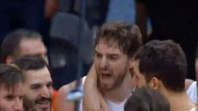 España derrota a Francia en emocionante juego y va a la final del Euroba...