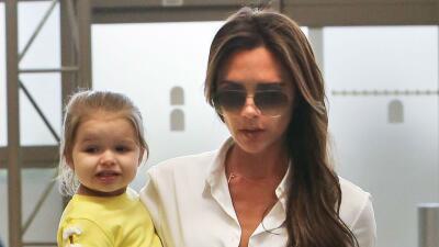 Victoria Beckham y Harper