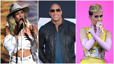 Miley Cyrus, Dwayne Johnson y Katy Perry envían mensaje de condolencia t...