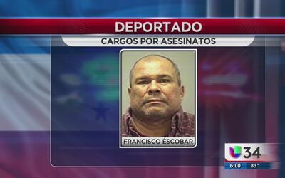 Deportado por doble asesinato en Honduras