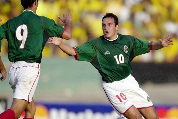 En aquel 2001, México ganó el juego siete a Jamaica, el juego ocho a Tri...