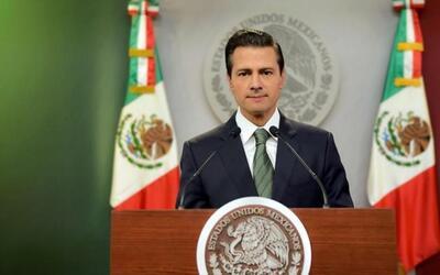 """Peña Nieto: """"vienen momentos complejos en la relación con EEUU"""""""