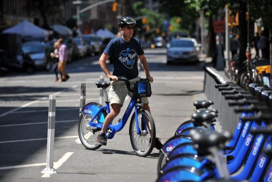 Inicialmente, el 'Citi Bike' da servicio a Manhattan por debajo de la ca...