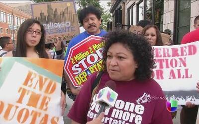 Una nueva ola de protestas de inmigrantes en La Casa Blanca