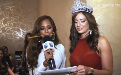 Aleyda Ortiz puso a sudar a las chicas de en Nueva York con una prueba d...
