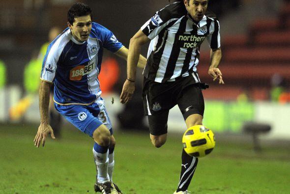 El encuentro que completó la jornada fue el Wigan vs. Newcastle.