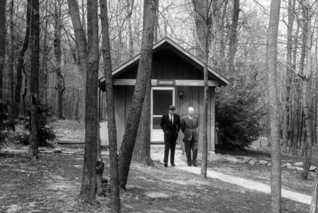 Camp David es el retiro rural del presidente de los Estados Unidos y sus...