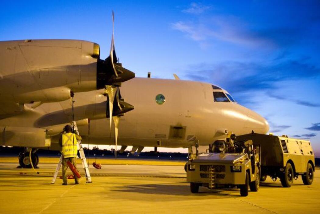 Aviones militares de Australia, Estados Unidos y Nueva Zelanda cubrían u...