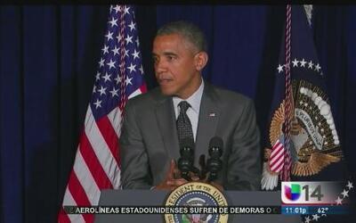 Obama lanza fuertes críticas a los líderes republicanos