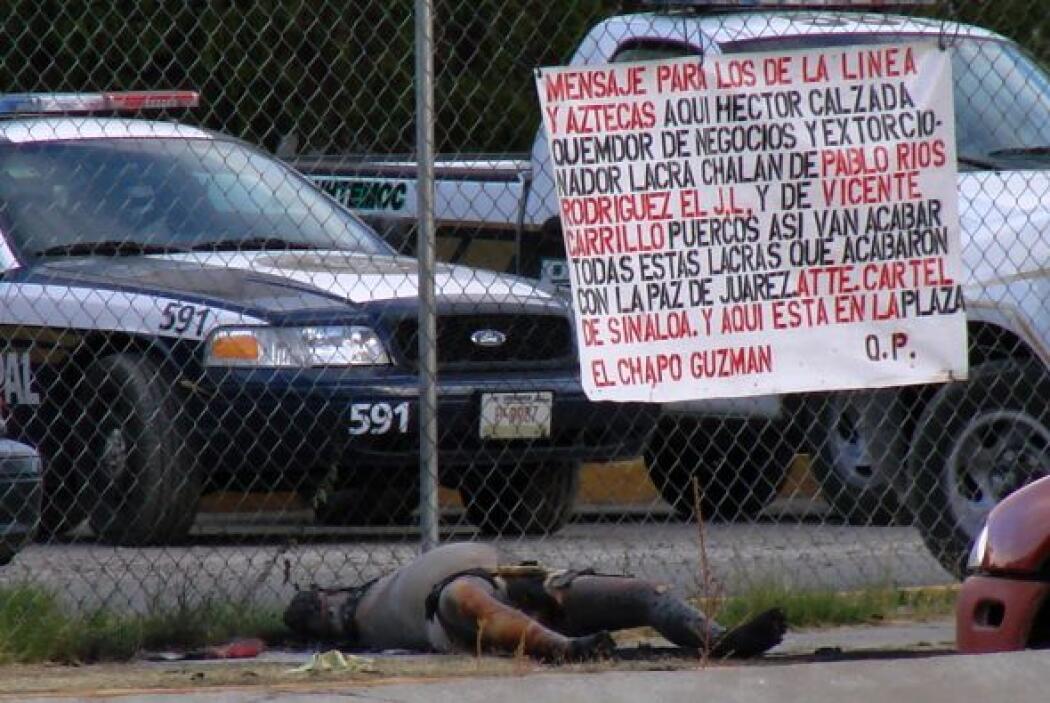 Fuerte rival de otros cárteles, como el cártel de Tijuana, 'El Chapo' y...
