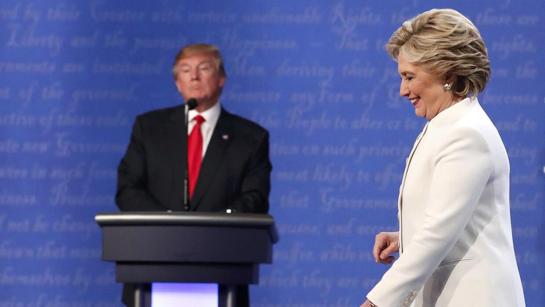 Diferencias ideológicas y políticas se hicieron evidentes entre Clinton...