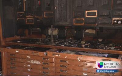Ladrón provoca incendio en la sacristía de una iglesia