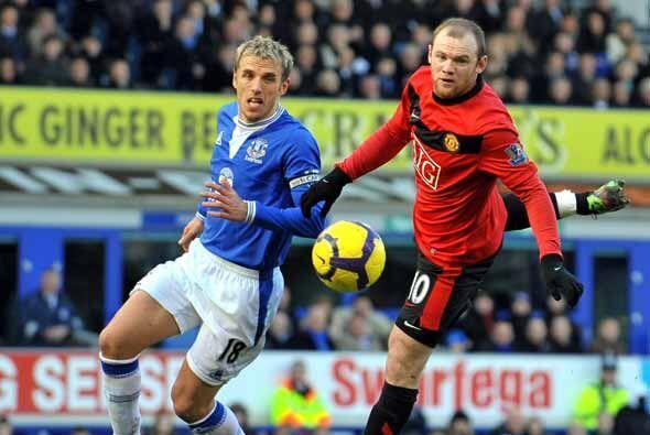 EL juego más esperado fue el del Manchester United contra el Ever...