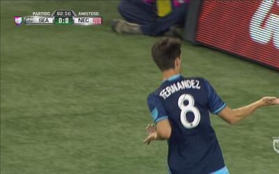 Álvaro Fernández abrió el marcador para el Seattle Sounders