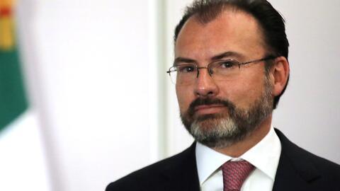 """Canciller Luis Videgaray sobre el TLC: """"México no aceptará aranceles, cu..."""