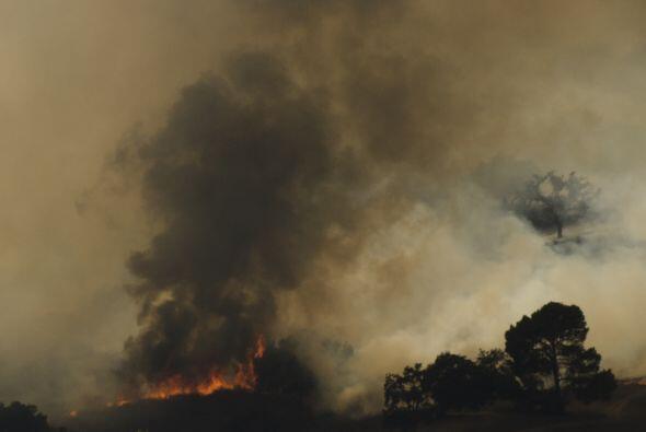 En Idaho se reportó avance en el combate contra el incendio Beaver Creek...