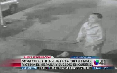 Sospechoso de asesinar a puñaladas a hispano