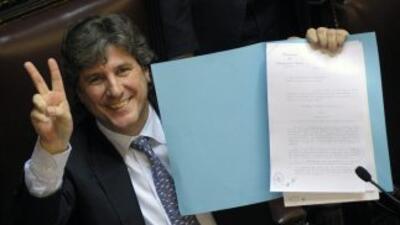 Amado Boudou, vicepresidente de Argentina.
