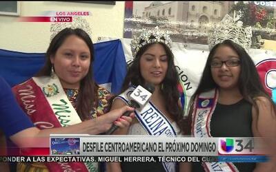 Desfile centroamericano este fin de semana