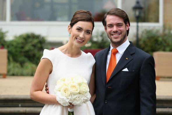 El príncipe Félix y Claire Ladermacher contrajeron matrimonio por lo civ...