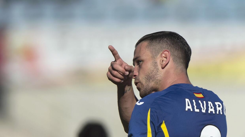 Alvaro hizo el gol del triunfo del Getafe.