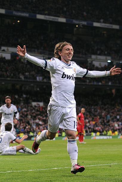 Dos minutos después del gol de Ronaldo llegó el tanto de Modric y ya gan...