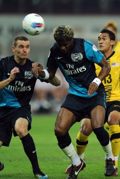 Después fue Theo Walcott quien puso el 2-0, pero podían haber caído más...