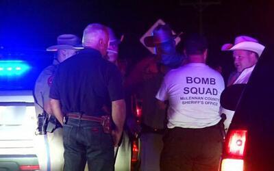 Agentes del ATF y del Condado McLennan, Texas desactivaron el artefacto