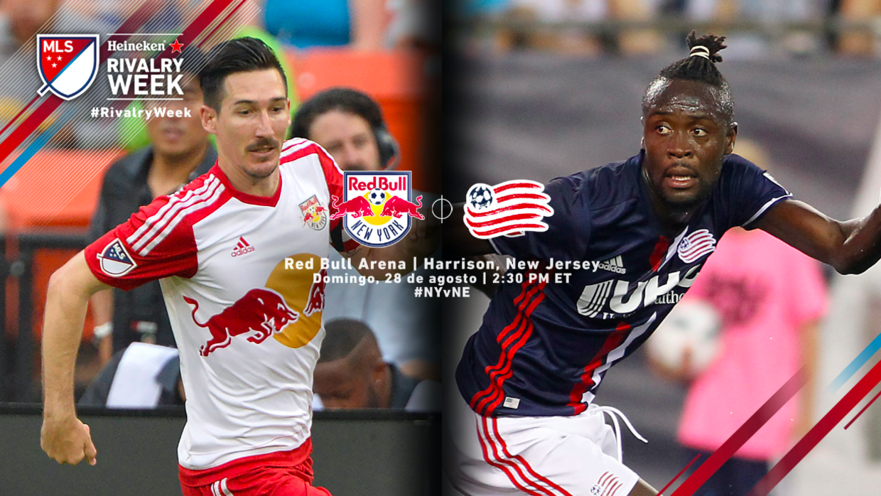 Red Bulls vs New England