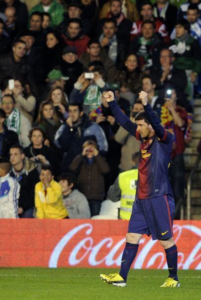 Lionel llegó a 86 anotaciones y dejó atrás la cifra...