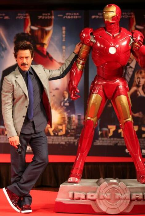 Robert Downey Jr., ocupa el primerísimo sitio con $75 millones, gracias...