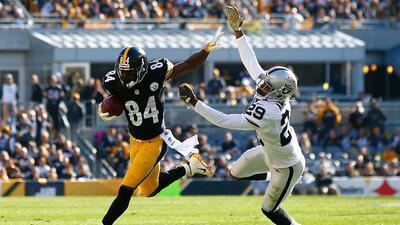 Steelers 38-35 Raiders: Sin el 'Big Ben' y con Antonio Brown brillando,...