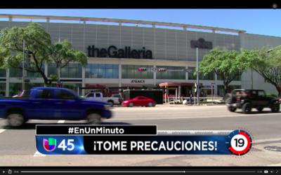 En Un Minuto Houston: Una mujer fue asaltada en el centro comercial Gall...