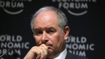 Stephen A. Schwarzman, fundador de la firma de inversiones Blackstone y...