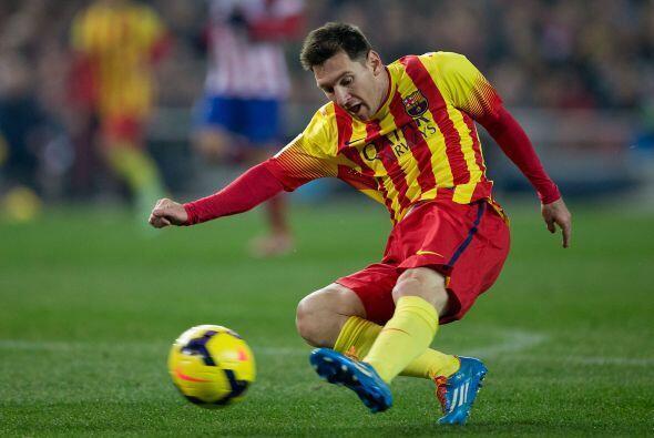 Messi, que regresaba de su lesión, tuvo las mejores ocasiones del...
