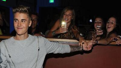 Bieber sólo quiere ver a chicas guapas