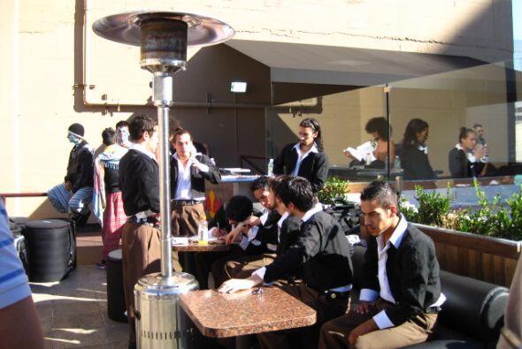 Un vistazo a los integrantes de Remolino Molambo de Argentina.