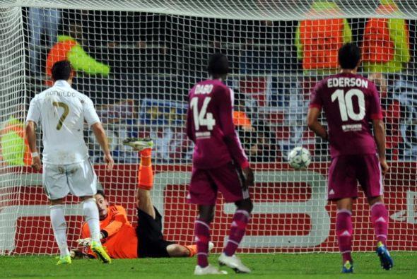 La apertura del marcador fue obra de Cristiano Ronaldo a los 11'. El por...
